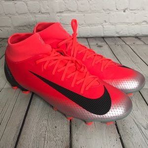 NWT Nike Superfly VI CR7 Soccer Cleats - Red/Black